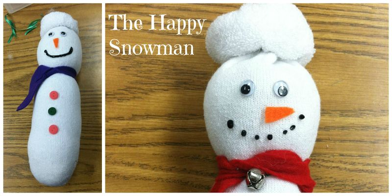 Happy Snowman Craft