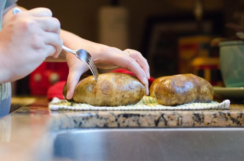 The Perfect Baked Potato - Kate Eschbach Photography-8